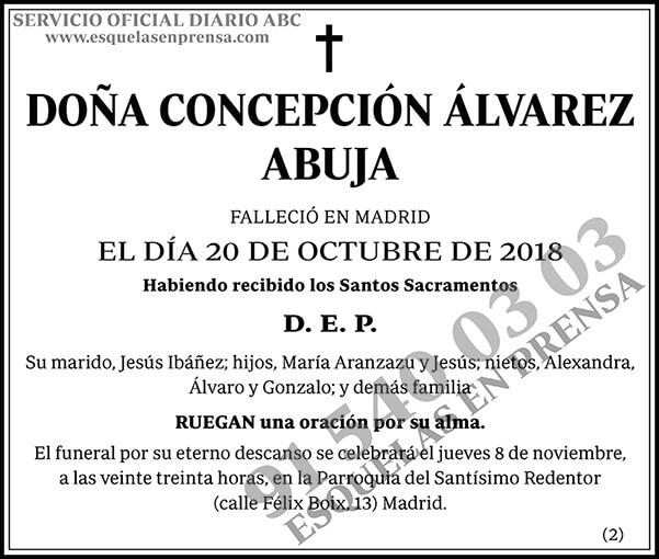 Concepción Álvarez Abuja